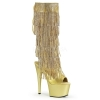 ADORE - 2024RSF Gold Faux Leather with Gold Fringe